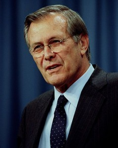 Portrait of Donald Rumsfeld